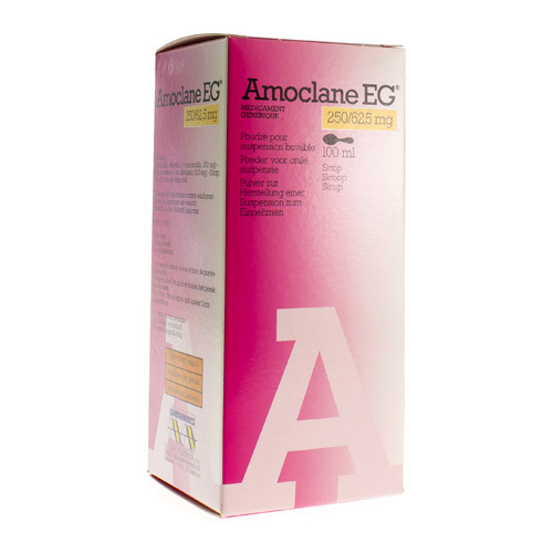 Amoclane EG Sir. 250Mg/5Ml 100 Ml