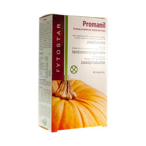 Fytostar Promanil Plasproblemen 60Caps