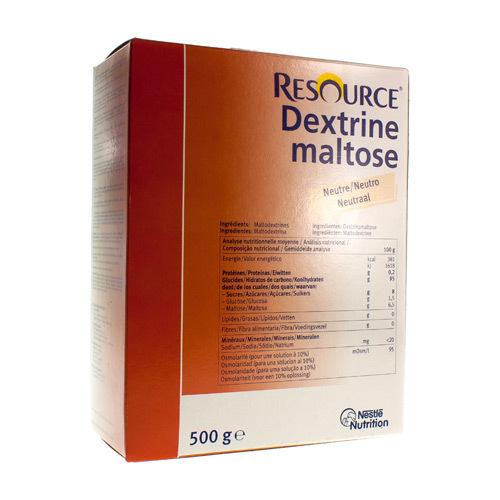 Resource Dextrine Maltose (500 Grammes)