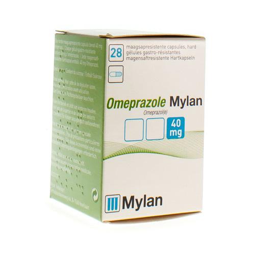 Omeprazole Mylan 40 Mg (28 Capsules)