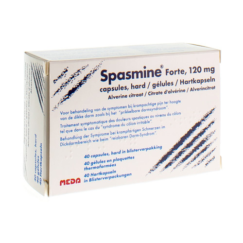 Spasmine Forte 120 Mg (40 Gelules)