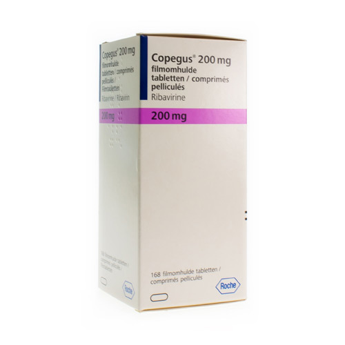 Copegus 200 Mg  168 Tabletten