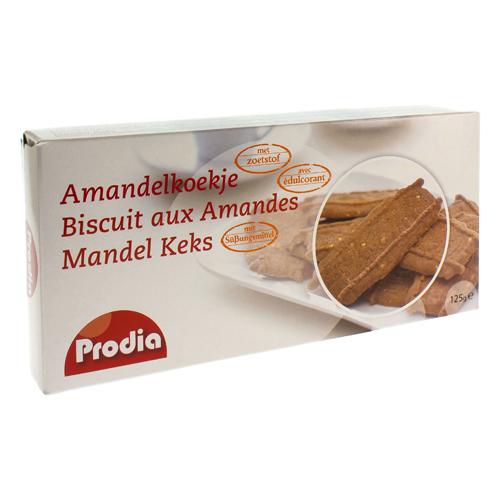 Prodia Amandelkoekjes Maltitol 125G