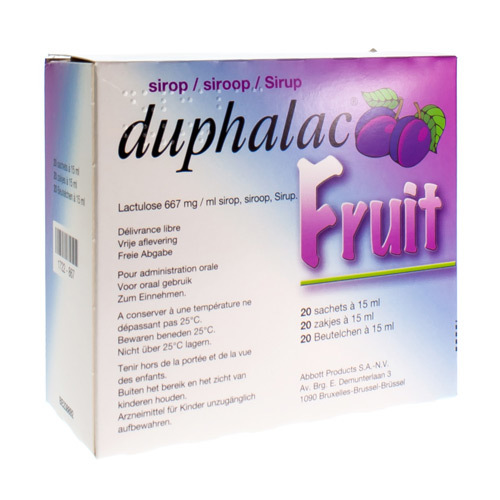 Duphalac Fruit 10 G/15 Ml  20 Sachets