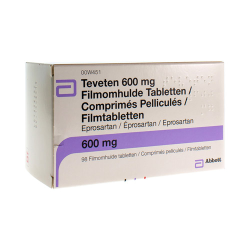 Teveten 600 Mg (98 Tabletten)
