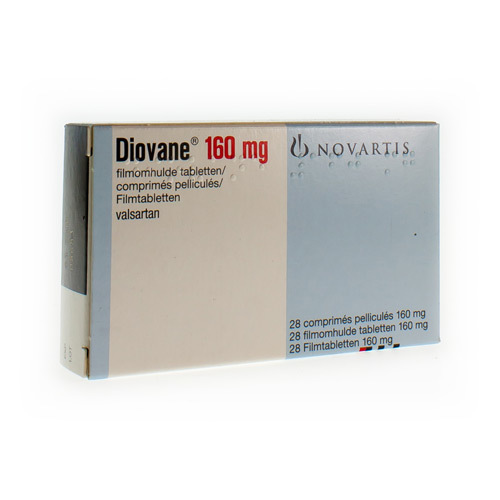 Diovane 160 Mg  28 Comprimes