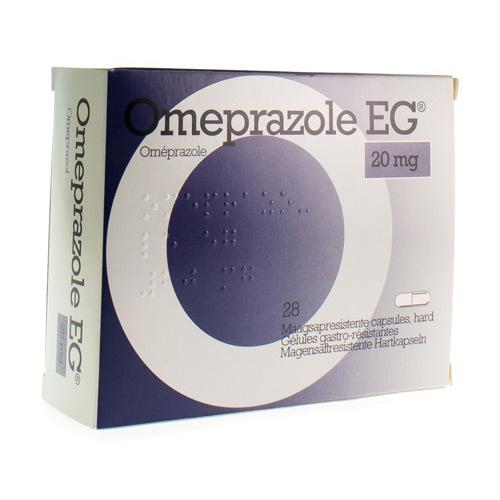 Omeprazole EG 20 Mg (28 Capsules)