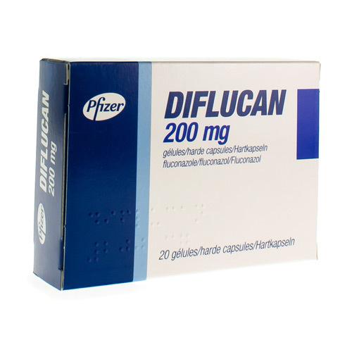 Diflucan 200 Mg  20 Capsules