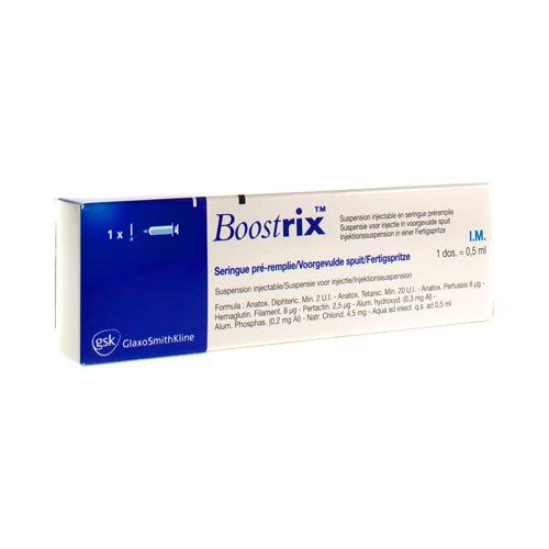 Boostrix Difterie-, Tetanus- En Kinkhoestvaccin  1 Spuit