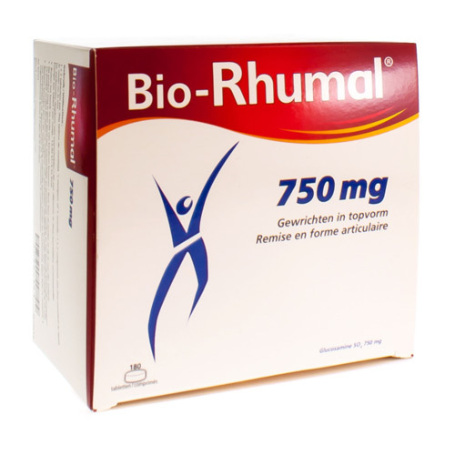 Bio Rhumal 750 Mg  180 Tabletten