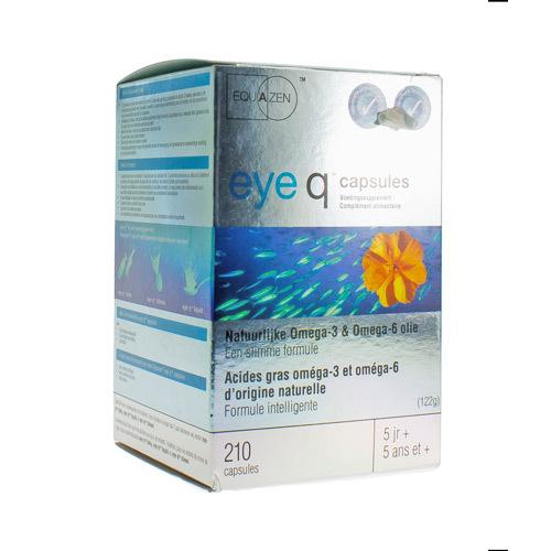 Eye Q Omega 3-6 Epa Springfield 500 Mg (210 Capsules)