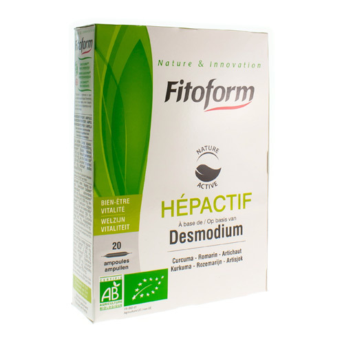 Hepactif Bio Fitoform (20 X 10 Ml)