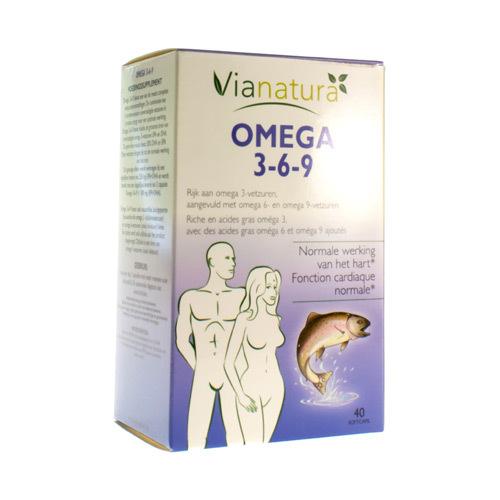 Via Natura Omega 3-6-9 (40 Capsules)