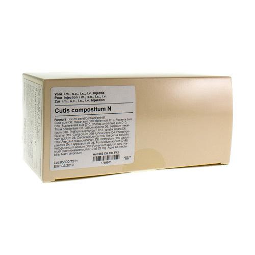 Cutis Compositum N Amp 50X2,2ml Heel