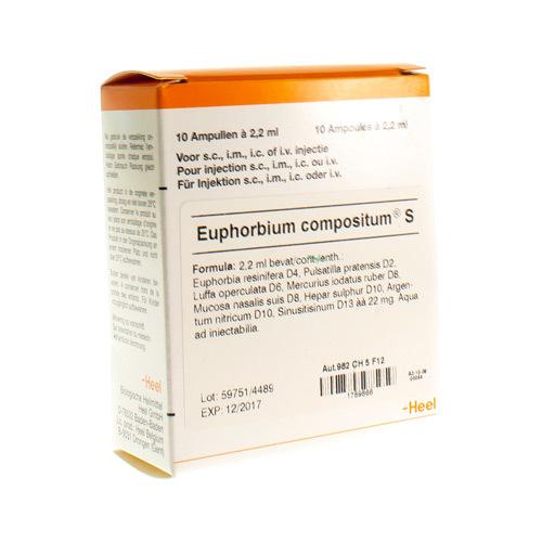 Euphorbium Compositum S Ii Amp 10X2,2ml Heel