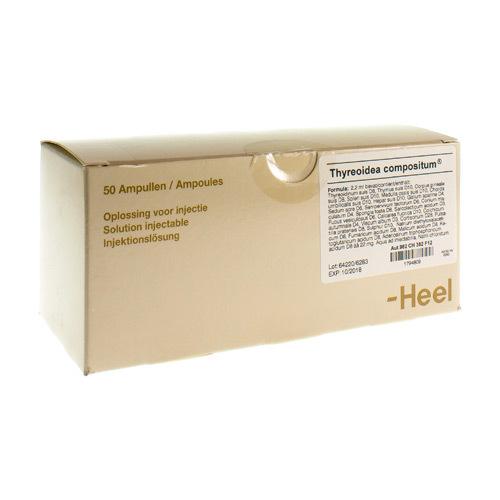 Thyreoidea Compositum Ii Amp 50X2,2ml Heel