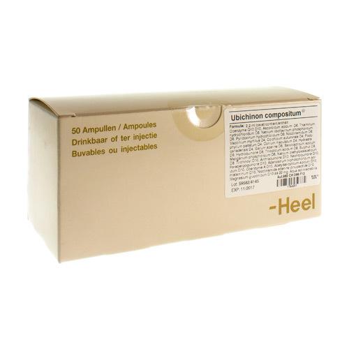 Ubichinon Compositum I Amp 50X2,2ml Heel