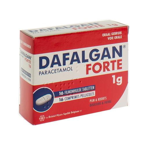 Dafalgan Forte 1 G  16 Comprimes