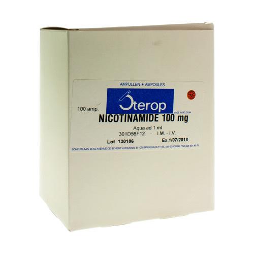 Nicotinamide Im/Iv Amp100X100 mg/1ml