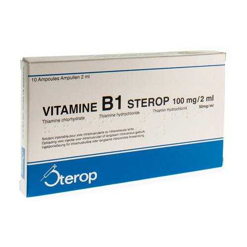 Vit B1 Im/Iv Amp 10 X 100 mg/2ml