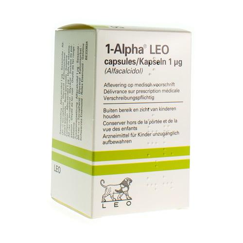 Alpha 1 Leo 1 Mcg  50 Capsules