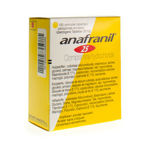Anafranil 25 Mg  150 Tabletten