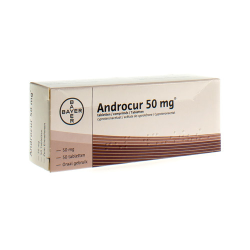 Androcur 50 mg (50 tabletten)