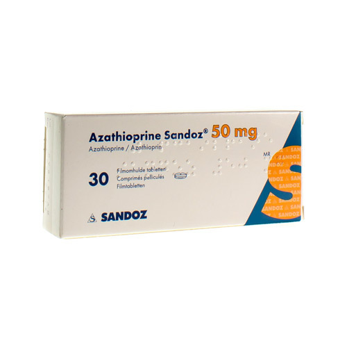 Azathioprine Sandoz 50 Mg  30 Tabletten