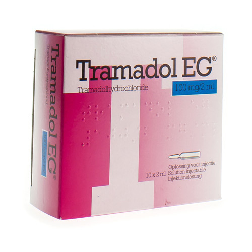 Tramadol EG 100 Mg/2 Ml (10 Ampullen)