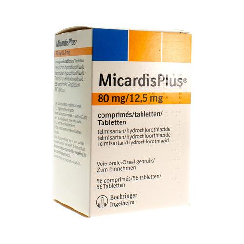 Micardis Plus 80 Mg / 12,5 Mg (56 Comprimes)