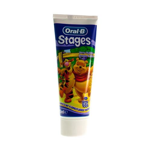 Oral B Tandpasta Stages Winnie The Pooh (75 Ml)
