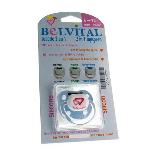 Belvital Sucette Fievre 6-12 M