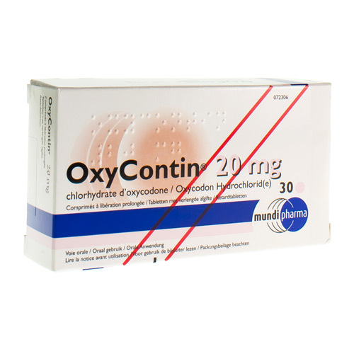 Oxycontin 20 Mg (30 Comprimes)