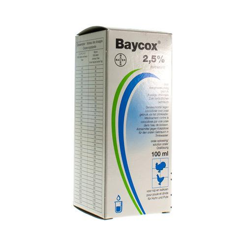 Baycox Veterinaire 2,5%  100 Ml