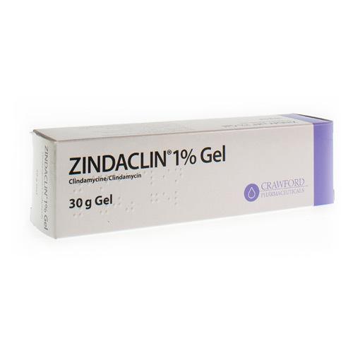 Zindaclin 1% Gel (30 Grammes)