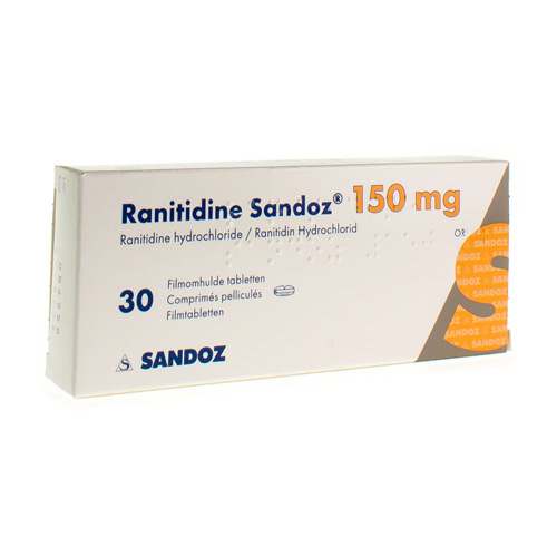 Ranitidine Sandoz 150 Mg (30 Tabletten)