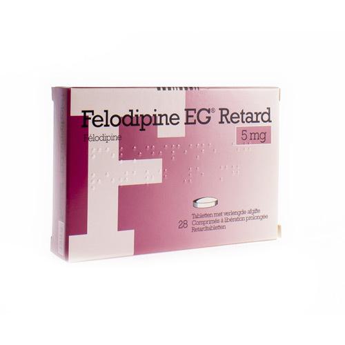 Felodipine EG Retard 5 Mg (28 Tabletten)