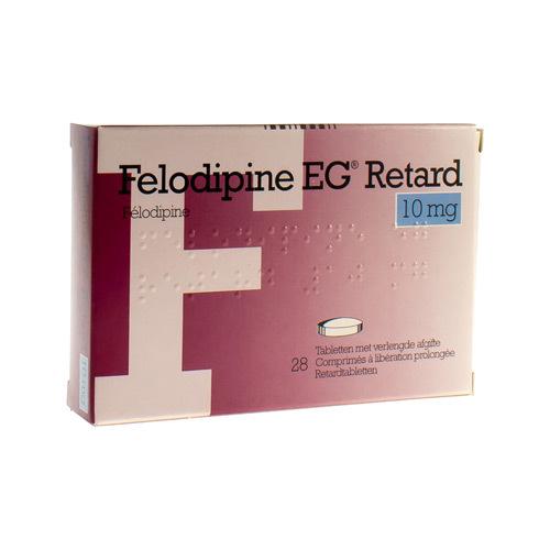 Felodipine EG Retard 10 Mg (28 Comprimes)