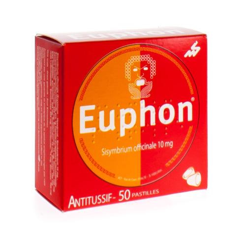 Euphon Pastilles (50 Pastille a Sucer)