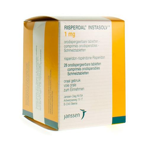 Risperdal 1 Mg (28 Comprimes Orodispersibles)