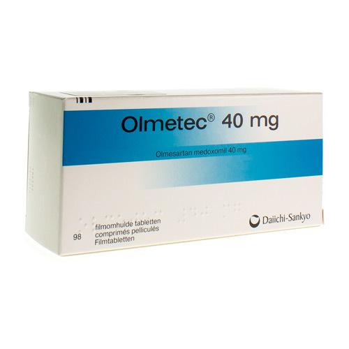 Olmetec 40 Mg (98 Comprimes)