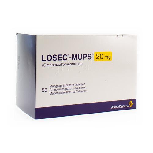 Losec-Mups 20 Mg (56 Comprimes)