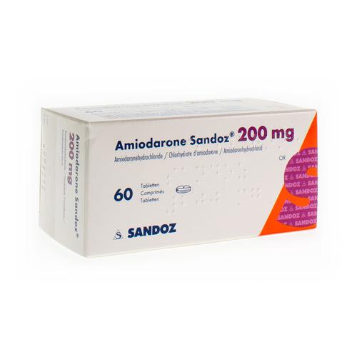 Amiodarone Sandoz 200 Mg  60 Comprimes