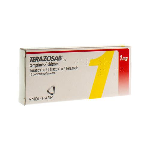 Terazosab 1 Mg (10 Comprimes)