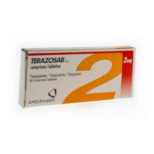 Terazosab 2 Mg (28 Comprimes)