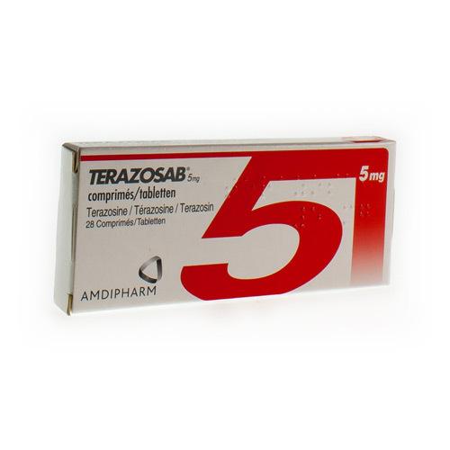 Terazosab 5 Mg (28 Comprimes)