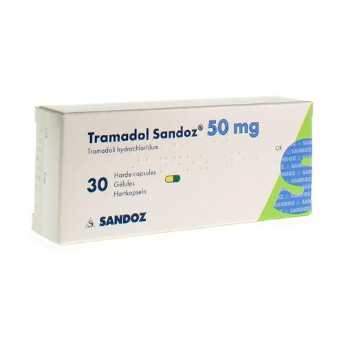 Tramadol Sandoz 50 Mg (30 Gelules)