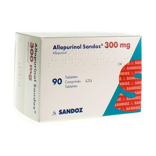 Allopurinol Sandoz 300 Mg  90 Comprimes