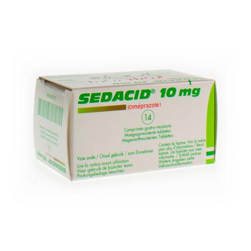 Sedacid 10 Mg (14 Comprimes)