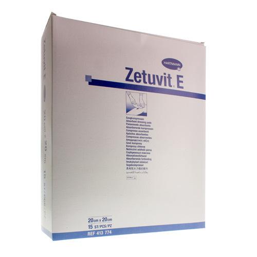 Zetuvit E Ster 20 Cm X 20 Cm (15 Stuks)